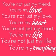 Cute love quotes for him on valentine s day. Cute Love Quotes, Love Husband Quotes, Love Quotes For Boyfriend, Life Quotes Love, Love My Husband, My Love, You Are My Everything Quotes, Amazing Husband, Fiance Quotes