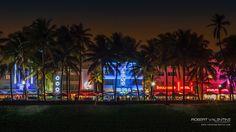 Ocean Drive, South Beach Miami 2015 South Beach Miami, Ocean Drive, Table Decorations, Dinner Table Decorations