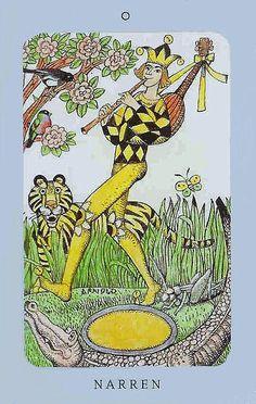 The Fool - Jolanda Tarot (Swedish Witch Tarot)