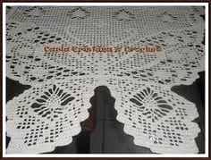 Resultado de imagem para trilho de mesa borboleta croche