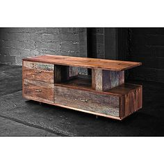 Reclaimed  wheeled coffee table | low coffee table and   reclaimed wood barn boards...