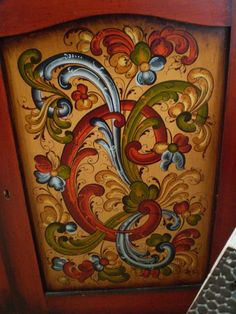 1000+ images about Norwegian rosemaling on Pinterest ...