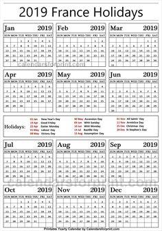 Indonesia 2019 Calendar With Holidays Holidays Calendar 2019