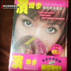 Ayumi Hamasaki Collectibles Photo Book and CD. #ayumihamasaki #jpop #singer #artist #photo #book #collection #collectibles #cd #audio #incendeo #infiniteserendipity #濱崎步 #日本 #歌星 #照片 #畫册 #收藏