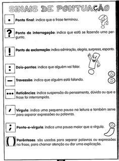 .: Sinais de Pontuação - Atividades Portuguese Lessons, Learn Portuguese, Magazine Cosmopolitan, Instyle Magazine, Portuguese Language, English Activities, Thing 1, Wedding Humor, Management Tips