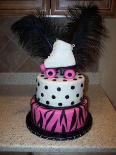 Roller Skate Cake By CrissyB on CakeCentral.com