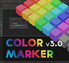 Color Marker is a small Outliner/Viewport management script for Autodesk Maya that will allow you to add some colors in Outliner and the Viewport (mesh wireframe, deformers, curves, emitters, joints...) making it way easier to see and arrange stuff if you are dealing with the heavy scene. A lot of people complained about the new icons after Maya 2016 was first released, especially guys who are doing rigging/animation type of work. This script should hopefully make things a bit easier not…