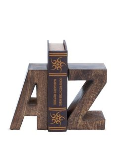 Pair of Alphabet Bookends