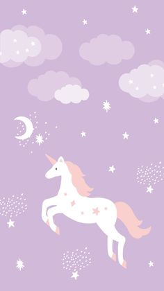 Unicorn Lockscreen, Unicorn Wallpaper Cute, Hello Kitty Iphone Wallpaper, Wallpaper Iphone Disney, Unicornios Wallpaper, Kawaii Wallpaper, Cute Wallpaper Backgrounds, Cute Cartoon Wallpapers, Iphone Backgrounds