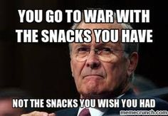 Even Rumsfeld has a message for Unexplained Phenomena, Atheism, Current Events, Feminism, Wish, Politics, Messages, Snacks, Fictional Characters