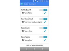 The free Android app Commandr helps you carry out common phone tasks using a few spoken commands and Google Now.