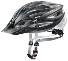 uvex oversize // Sporty design. Made for oversized head shapes. The bike helmet uvex oversize has 24 ventilation openings for ensuring a cool head even at long-distance bike tours.