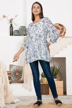 Size XL loose fitting tunics with dropped shoulders satin Tee collection Satin floral summer blouse-Lightweight oversize top