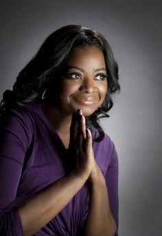 Octavia Spencer - Octavia Lenora Spencer (born May is an American actress. She is perhaps best known for her role as Minny, the outspoken maid in the 2011 film, The Help, for which she received an Academy Award for Best Supporting Actress, Beautiful Black Women, Beautiful People, Amazing Women, Oscar 2012, Mississippi, Lincoln And Octavia, Octavia Spencer, Black Goddess, Female Stars