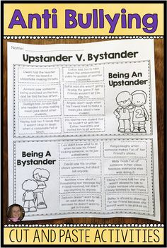 There are many factors kids bullying and others. They can have strained home lives, not be obtaining adequate focus in your home Elementary School Counselor, School Counseling, Counselor Office, Coping Skills, Social Skills, Social Work, Life Skills, Anti Bullying Activities, Anti Bullying Lessons