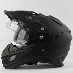Modern Moto Helmet w/ Dual Visor