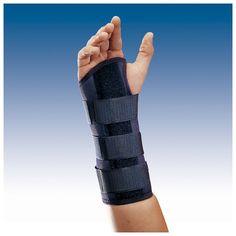MUÑEQUERA SEMIRRÍGIDA INMOVILIZADORA CON FÉRULA PALMAR - REF: MF-D52(DRCH) / MF-I52(IZQDA) / MF-D61(DRCH) / MF-I61 (IZQDA): Inmovilización funcional de la muñeca, secuelas dolorosas por inflamación en artrosis y artritis, tratamiento conservador después de cirugía o lesiones.