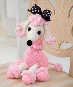 Pomp-A-Poodle By Nancy Anderson - Free Crochet Pattern - (ravelry)