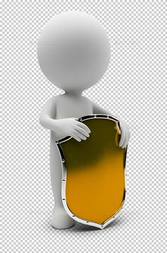 small people - shield small people with a gold shield. Transparent high resolution PSD with shadows. Created: GraphicsFilesIncluded: PhotoshopPSD HighResolution: Yes Layered: No MinimumAdobeCSVersion: CS Tags: Sculpture Lessons, 3d Man, Emoji Images, 3d Design, Render Design, Alpha Channel, Person Png, 3 D, Clip Art