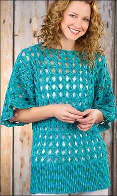 Summer Breeze Tunic By Shannon Mullett-Bowlsby - Free Crochet Pattern - (ravelry)