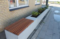 Large Garden Planters, Aarhus, Siena, Sidewalk, Deck, Outdoor Decor, Home Decor, Decoration Home, Large Planter Boxes