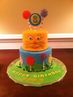 Lorax  cakes | The Lorax cake