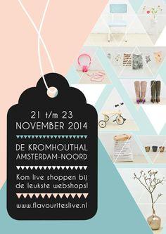 MamaLiefs staat op het leukste webwinkel-event van Nederland! 21 t/m 23 november 2014 in Amsterdam. Kom gezellig langs! #flavourites #live #flavlive