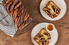 Marcipános-csokis babka   Street Kitchen French Toast, Breakfast, Street, Kitchen, Food, Drinks, Morning Coffee, Drinking, Cooking