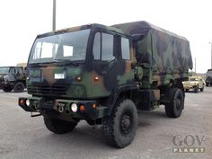 Surplus 1994 Stewart & Stevenson M1078 LMTV 4x4 Cargo Truck in Fort Campbell, Kentucky, United States (GovPlanet Item #671040)