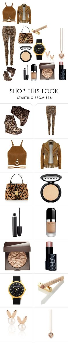 """""""yessssss_leopard_all_they_$$$"""" by onfleeklover21 ❤ liked on Polyvore featuring beauty, Charlotte Olympia, WearAll, River Island, Mark Cross, LORAC, MAC Cosmetics, Marc Jacobs, Laura Mercier and NARS Cosmetics"""