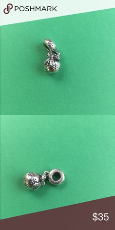 Pandora Christmas Ornament Dangle Charm RARE EUC, Let me know if you have any questions and check out my other items! Pandora Jewelry Bracelets