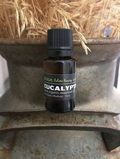 EUCALYPTUS radiata 100 % pure organic essential oil Essential Oils For Add, Organic Essential Oils, Bring Down A Fever, Aromatherapy Products, Decongestant, Metal Bowl, Infused Oils, Parts Of A Plant, 100 Pure