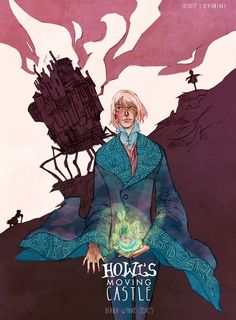Howl's Moving Castle; This is the book that got me into college. #Miyazaki