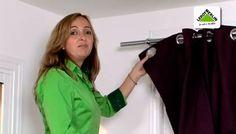 Colocar barra de cortina sin instalación - Leroy Merlin