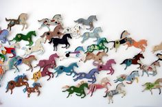 Horses, would love to decorate a single wall in my house like this