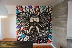 Elefante na Sala de Jogos by Cadumen e-mail: contato@cadumendonca.com