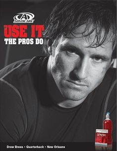 Use it...The Pros Do.............Drew uses: AdvoCare® Slam™, AdvoCare Spark® Energy Drink, Rehydrate Sports Drink, Arginine Extreme, Nighttime Recovery, Post-Workout Recovery Sports Drink, CorePlex®, Joint ProMotion™, AdvoCare® Muscle Fuel, Muscle Gain™ Protein Shake, CorePlex®, Joint ProMotion™, BioTools, Bio-RQ, O2 Gold™, V16® Energy Drink