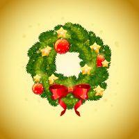 Create a Detailed, Festive Christmas Wreath in Adobe Illustrator (via vector.tutsplus.com)