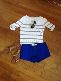 I have this exact outfit from last spring/summer. Never thought of putting it together though! Cute