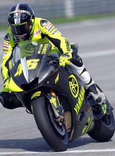 valentino Rossi, pre season testing 2004