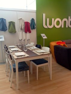 Fun, colourful life with Luonto, Finland Decor, Furniture, Comfortable, Conference Room, Room, Sofas, Table, Home Decor, Conference Room Table