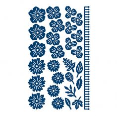 D299 Tattered Lace Dies - Beautiful Blooms