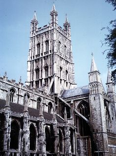 Medieval Gloucester Cathedral - Exterior