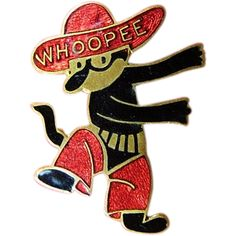 Original Krazy Kat Comic Strip Cartoon Character Enamel Whoopee Pin from respectablecollectables on Ruby Lane Vintage Cat, Vintage Disney, Felix The Cats, Old Cats, Cat Art, Comic Strips, Cartoon Characters, Mickey Mouse, Kitty