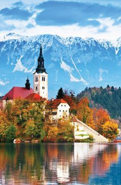 Bled Castle in #Slovenia