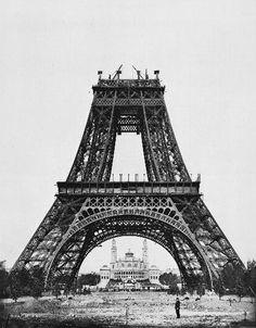 Construction tour eiffel5 - Torre Eiffel – Wikipédia, a enciclopédia livre