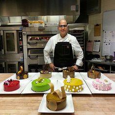 Entremet photoshoot @stregisbalharbour #bachour | by Pastry Chef Antonio Bachour