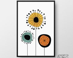 Printable Modern & Scandinavian Wall Art Designs by DreamPrintDesigns Wall Art Designs, Designs To Draw, Modern Prints, Modern Art, Danish Modern, Pin On, Mid Century Art, Home Wall Decor, Flower Wall