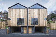 The Cedar Lodges par Adam Knibb Architects - Journal du Design