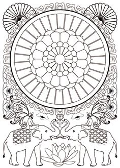 Art-thérapie : 100 mandalas anti-stress: Amazon.de: Sophie Leblanc, Collectif: Fremdsprachige Bücher